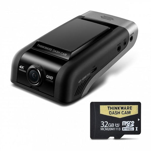 THINKWARE U1000 4K UHD Front Dash Camera with 32GB Micro SD Card (U4K32)