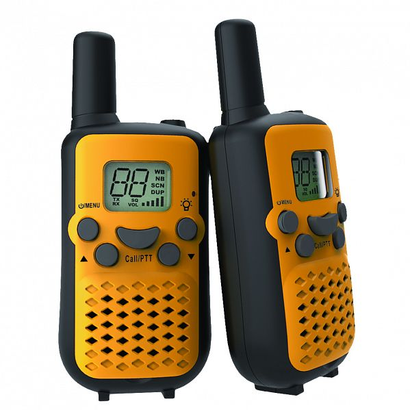 Crystal Mobile DBH03 0.5W Handheld UHF CB Radio (Twin Pack)