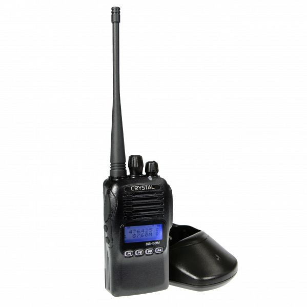 Crystal Mobile DBH50M 5W Pro Handheld UHF Radio (Waterproof)