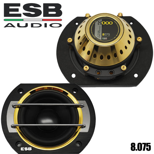 "ESB Audio 8.075 8000 SERIES 3"" (75mm) Midrange Speaker"