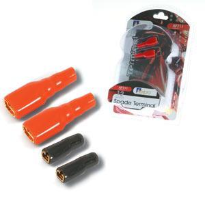 Aerpro AP711 12GA Speaker Terminals (2 Reds [Large] & 2 Blacks [Small])