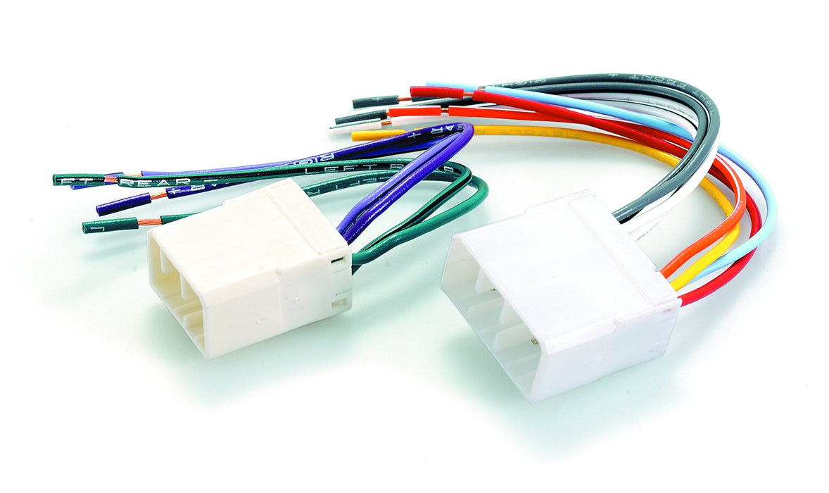 Aerpro AP7901F Vehicle-specific Plug to Bare Wire Harness for Ford & Mazda (Various Models)