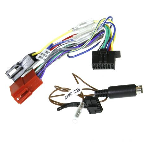 Aerpro APP9KE5 APP9 Secondary ISO Harness & SWC Patch Lead for Kenwood Head Units (16 PIN Connector)