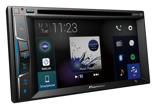 Pioneer AVH-Z2250BT Touch-screen Multimedia Player (Apple CarPlay & Bluetooth)