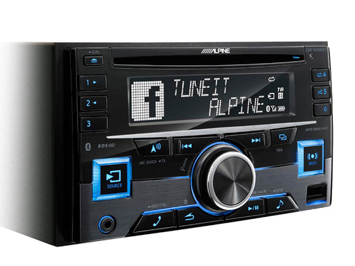 Alpine CDE-W296BT 2-DIN CD Receiver with Bluetooth® / USB / AUX / iPod® and iPhone® / TuneIt