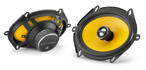 "JL Audio C1-570x Coaxial Speaker System: 5"" x 7"" / 6"" x 8"" (125 mm x 180 mm) Woofer, 0.75"" (19 mm) Aluminium Dome Tweeter (Sold as pair)"