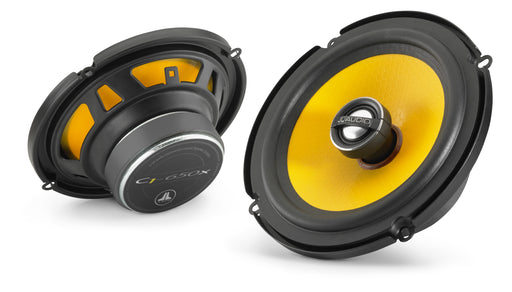 "JL Audio C1-650x Coaxial Speaker System: 6.5"" (165 mm) Woofer, 0.75"" (19 mm) Aluminium Dome Tweeter (Sold as pair)"