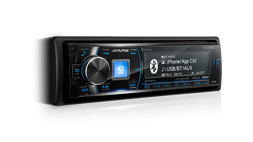 Alpine CDE-178BT CD Receiver with Advanced Bluetooth® / USB / iPod® and iPhone® / TuneIt / App Controller