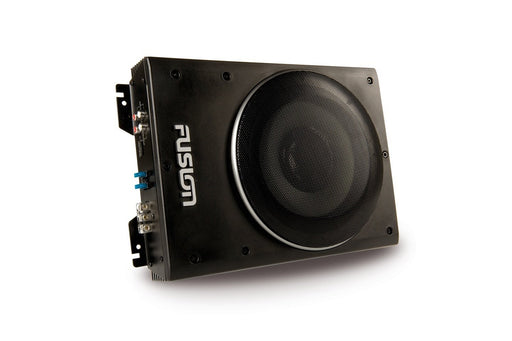 "Fusion CP-AS1080 8"" 600 Watt Super Slim Active Subwoofer"