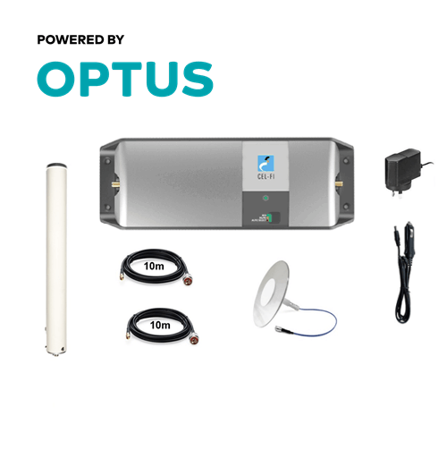 Cel-Fi GO Optus Building Omni Pack inc. Pulse Ultrathin Clear