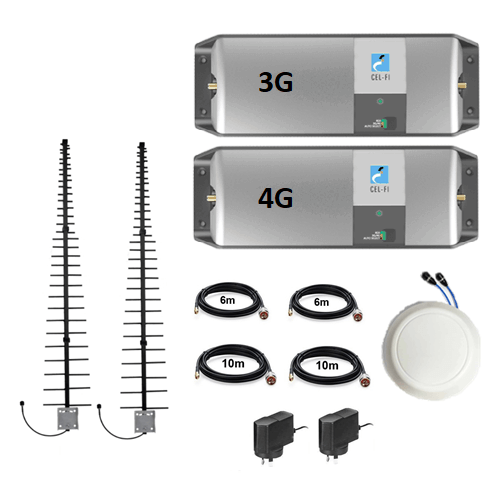 Cel-Fi GO Telstra Dual 3G/4G Celing Pack with LPDA Antennas