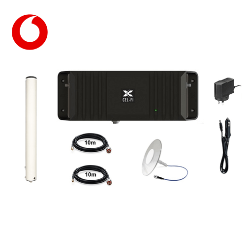 Cel-Fi GO2 Vodafone Building Pack (with Pulse Ultra-thin Clear)