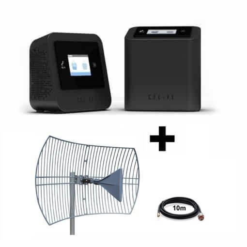 Cel-Fi PRO Telstra 3G/4G Repeater with Parabolic Grid External Antenna