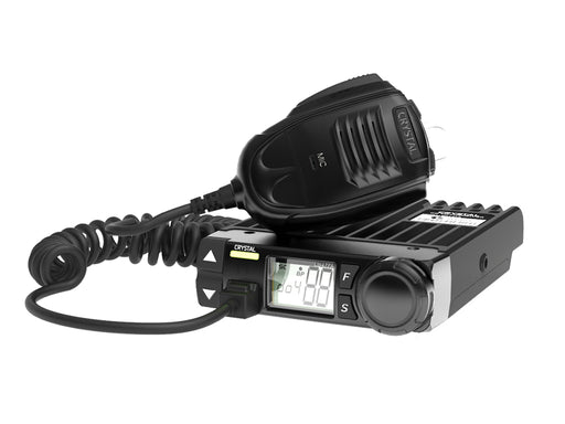 Crystal Mobile DB477A 5W Compact In-car UHF CB Radio