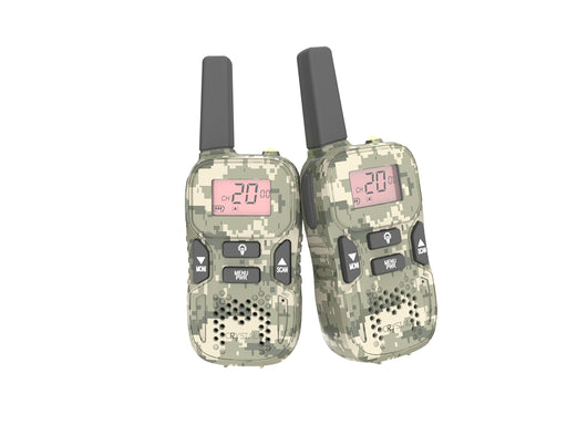 Crystal Mobile DBH03R Rechargeable Handheld UHF CB Radio (Twin Pack)
