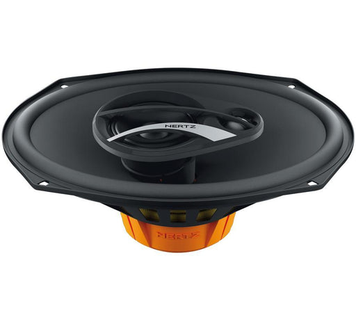 "HERTZ DCX690.3 6""x9"" 3-way Coaxial Speakers with Grilles - SET"