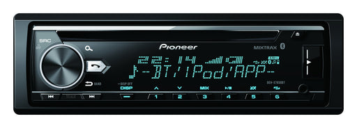 Pioneer DEH-X7850BT CD Receiver, AM/FM, Dual Phone BT, Spotify, RGB Illumination, Full dot LCD, FLAC, iPhone, Android, USB, AUX, 3 Preouts