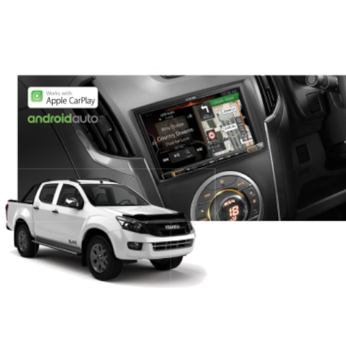 "Alpine DMAX-X802D 8"" Advanced Navigation System with Apple CarPlay & Android Auto for Isuzu D-Max"