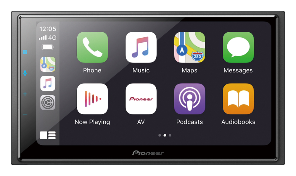 "Pioneer DMH-Z6350BT Capacitive Touch-screen ""Short Chassis"" Multimedia player with Apple CarPlay, Android Auto & Alexa Built-in"