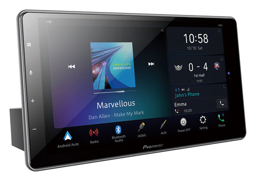 "Pioneer DMH-ZF9350BT 9″ HD Capacitive ""Floating"" Touch-screen Multimedia player with Apple CarPlay, Android Auto & Alexa Built-in"