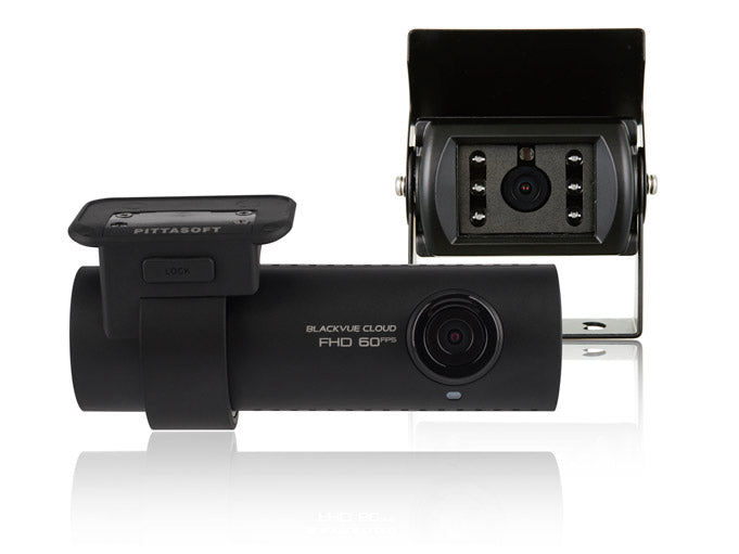 Blackvue DR750S-2CH Full HD Dash and Rear Cameras for Trucks - 128GB