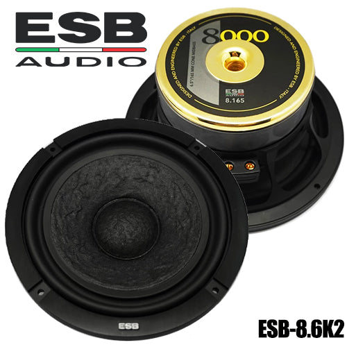 "ESB Audio 8.6K2 6.5"" 2-way Car Speaker - SET"
