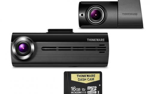 THINKWARE F20016K Front & Rear Dash Camera Pack (with 16GB Micro SD Card)