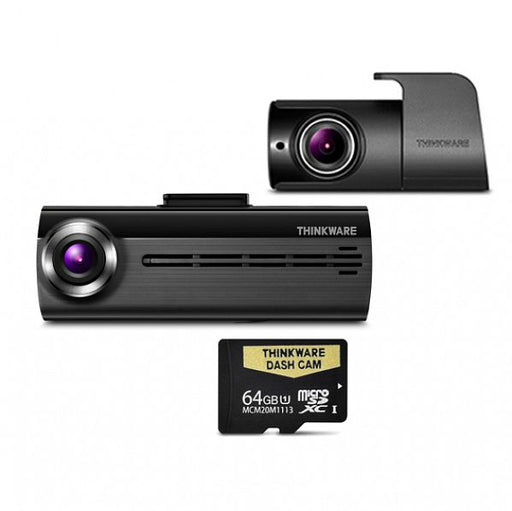 THINKWARE F20064K Front & Rear Dash Camera Pack (with 64GB Micro SD Card)