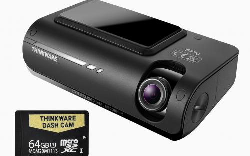THINKWARE F77064 Full HD Dash Camera (with 64GB Micro SD Card)