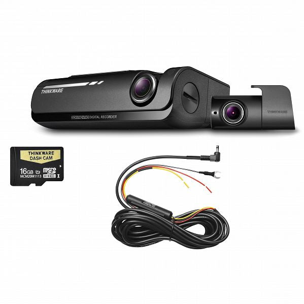 THINKWARE F770D16 Front & Rear Dash Camera Pack (with 16GB Micro SD Card)