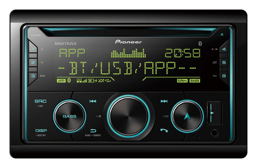 Pioneer FH-S725BT Car Stereo (with Dual Bluetooth)