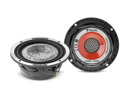 FOCAL 35WM-MID-BASS-1 3.5″ Mid-Bass Drivers (Utopia M) 50W RMS, 200Hz to 10KHz (PAIR)