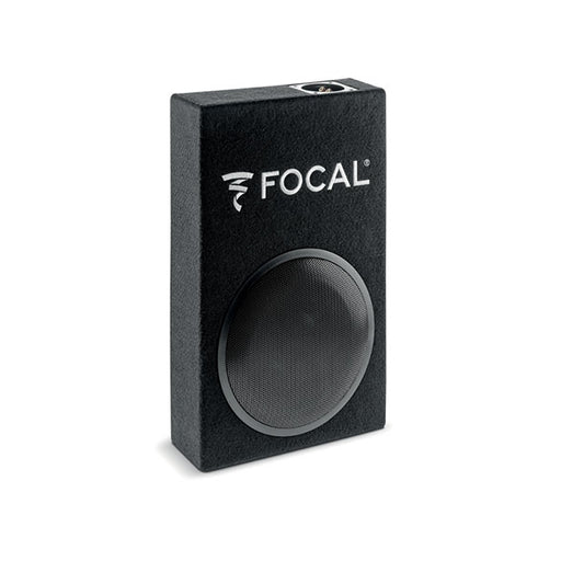 "FOCAL PSB200 8"" passive sub with compact enclosure 19""x12""x5"", 4 ohm, 150W RMS, 45Hz-150Hz"