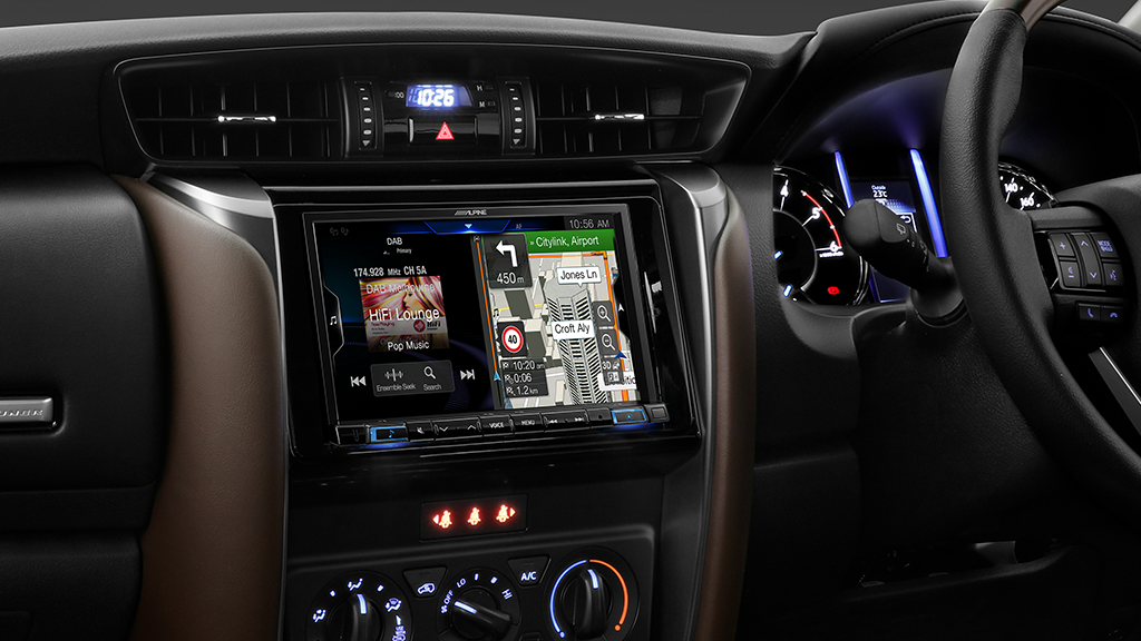 Alpine FORTUNER-X308AU Premium Navigation Solution for Toyota Fortuner