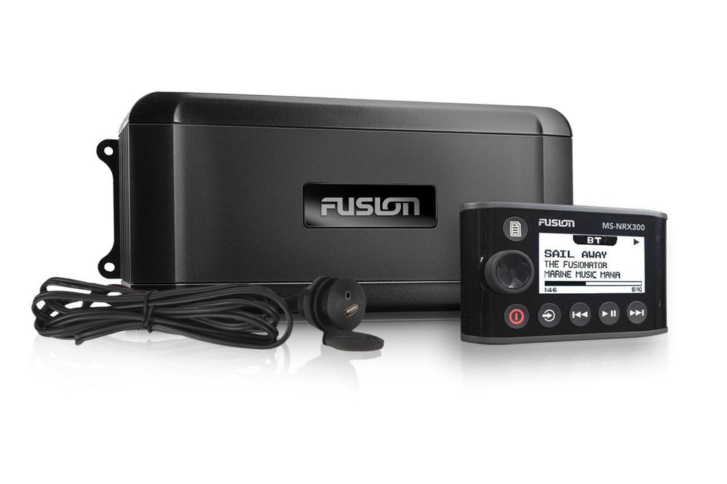 Fusion MS-BB300R Marine Black Box with Wired Remote