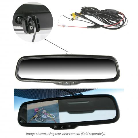 "Gator GRM430EM 4.3"" Display OEM Replacement Rearview Anti-glare Mirror Monitor"