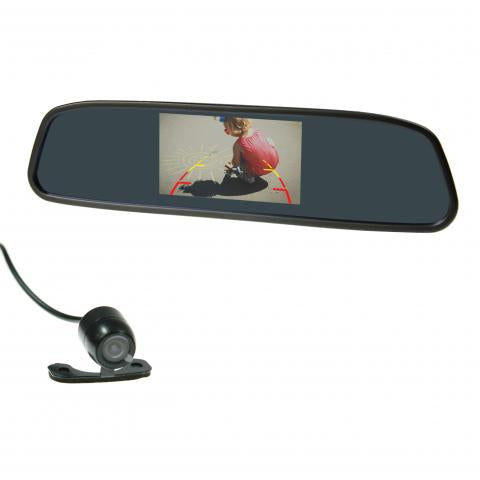 "Gator GRV43MKT 4.3"" Mirror Mount Display Reverse Camera Kit"
