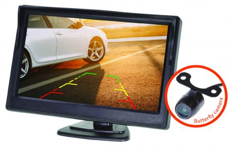 "Gator 5"" GRV50KT Dash Mount Display Reverse Camera Kit"