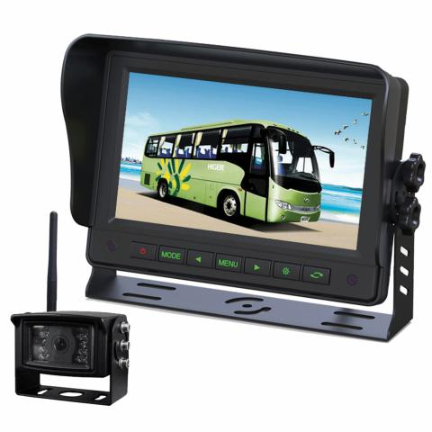 "Gator 7"" GT700W2 Wireless Commercial-grade Dash Mount Display Reverse Camera Kit"