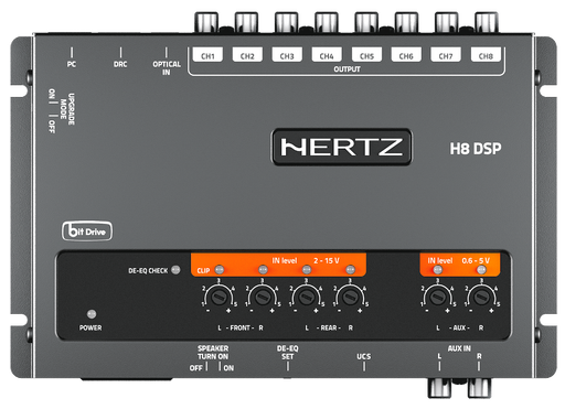 HERTZ H8 DSP 8-channel Car Audio Processor