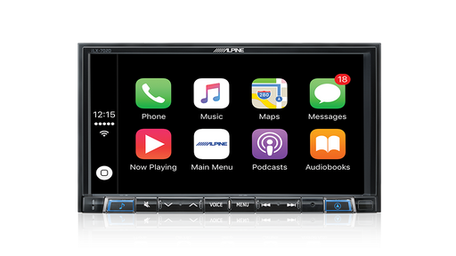 "Alpine iLX-702D 7"" Audio Visual Receiver 7"" Audio Visual Receiver with Apple CarPlay / Android Auto / Bluetooth® / USB / HDMI / DAB+ / TuneIt"