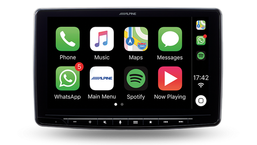 "Alpine iLX-F309E 9"" Apple Car Play / Android Auto DAB+ Receiver"
