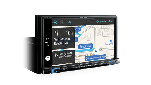 "Alpine INE-W710D 7"" Primo 3.0 Navigation with Apple CarPlay and Android Auto Advanced Bluetooth® / USB / HDMI / DAB+ & HEMA MAPS"