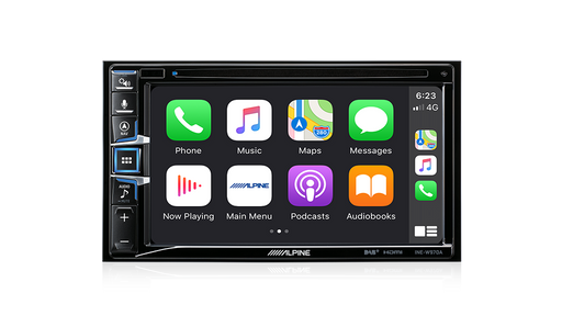 "Alpine INE-W970A 9"" Audio Visual Receiver with Navigation / Apple CarPlay / Android Auto / Bluetooth® / USB"