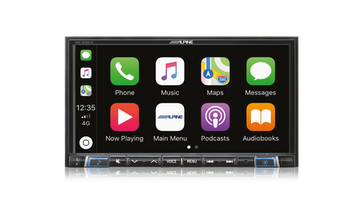 "Alpine INE-W987A 7"" Primo 3.0 Navigation with Apple CarPlay and Android Auto Advanced Bluetooth® / USB / HDMI / DAB+"