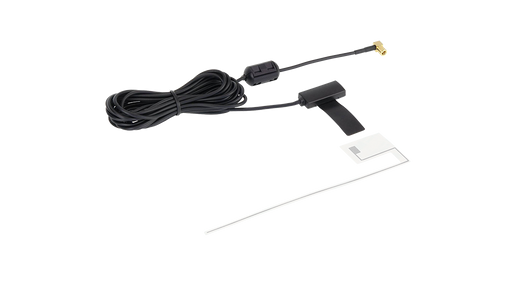 Alpine KAE-242DA-R Active DAB+ Screen Antenna (with 3.5 metre low-loss cable with angled SMB [F] plug)
