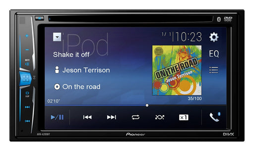 Pioneer AVH-A205BT Touch-screen with Bluetooth, iPod/iPhone, USB & Aux-In