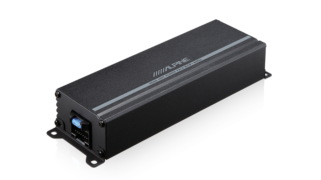 Alpine KTP-445U Powerpack Amplifier