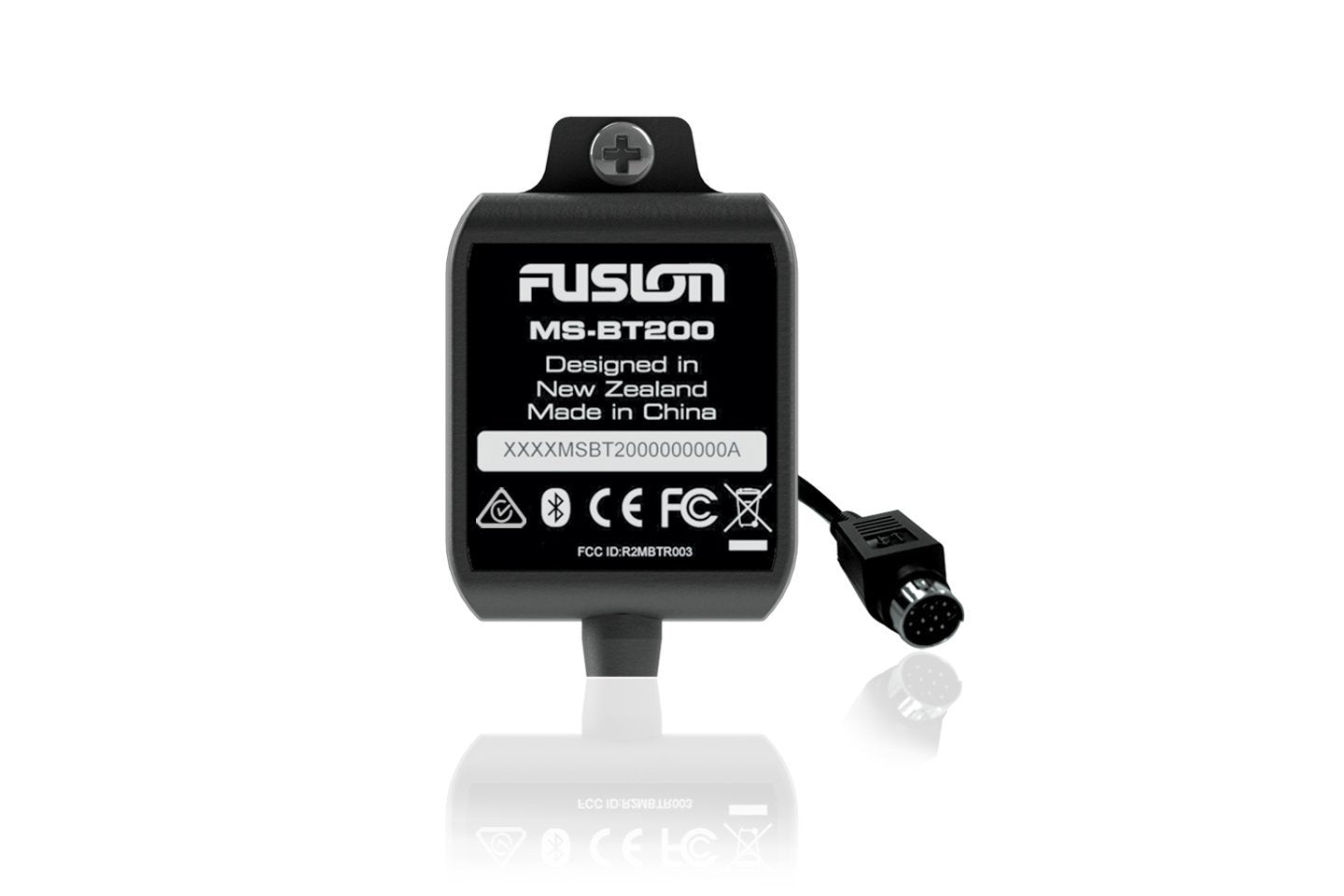 Fusion MS-BT200 Marine Bluetooth Module with Data Display