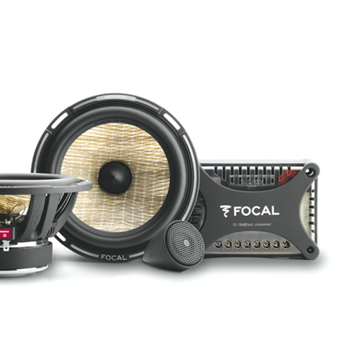 "FOCAL PS 165FX 6.5"" Flax component kit, bi-amp ready, 80W RMS, 55Hz-28kHz"